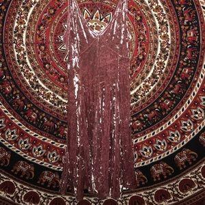 Size medium. American eagle dress. Velvet, maybe.